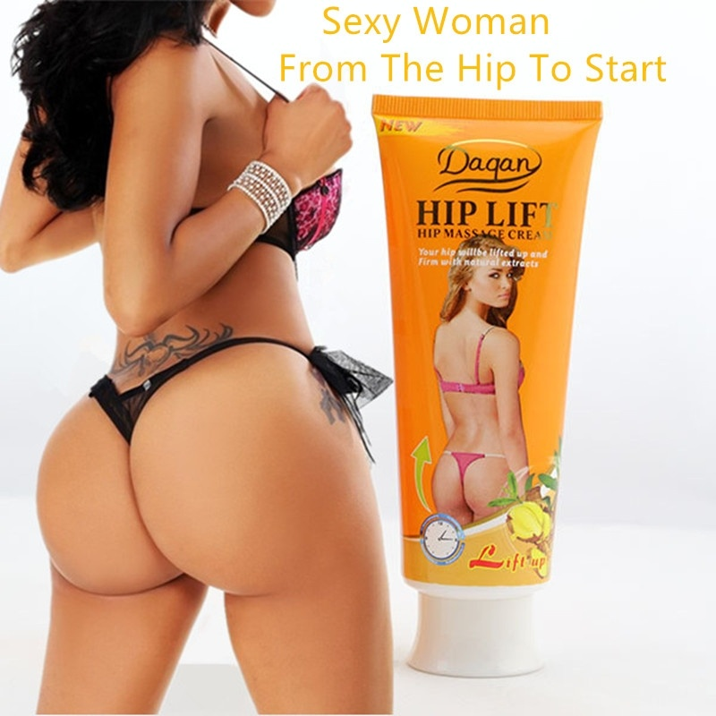 120g Chili Garlic Extract Hip And Butt Enhancer Cream Big Ass Breast Buttocks Enlargement Cream Hip Up Butt Lift Cream