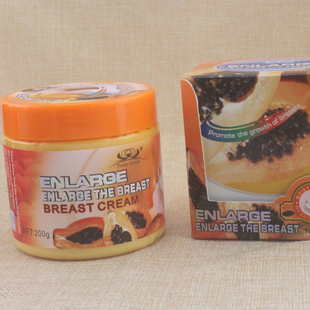 Hot Big Breast Pawpaw Extract for Breast Enlargement and Breast Beauty Breast Cream 200g