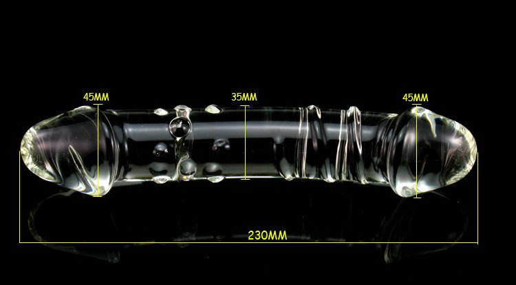 More Bold Pyrex Crystal Dildo Glass Dildos Female Sex Products, Dildos For Women DP-3648